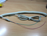 Coil Cord with Gromett